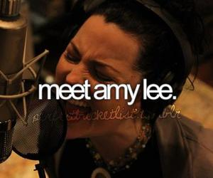 amy lee, before i die, and evanescence image