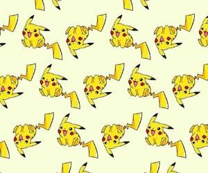 pattern, pokemon, and pikachu image