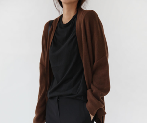 black clothes, brown, and fashion image