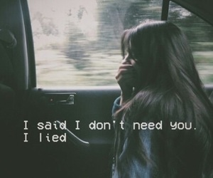 quotes, sad, and lies image