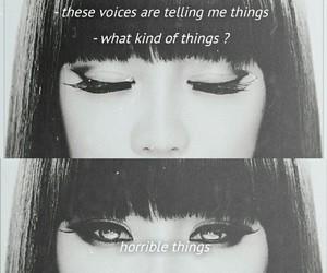 2ne1, kpop, and sad quote image