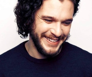 kit harington, actor, and smile image