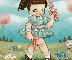 melanie martinez, cry baby, and mad hatter image