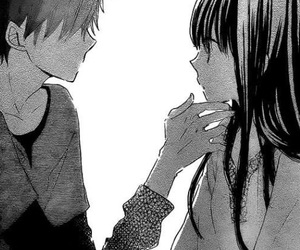 manga, last game, and love image