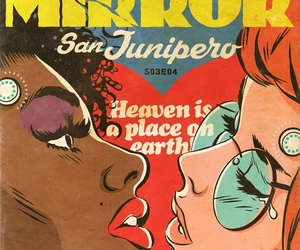 comic, lesbians, and black mirror image