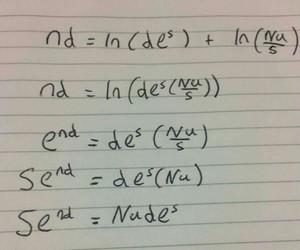 mathematics, school, and send nudes image
