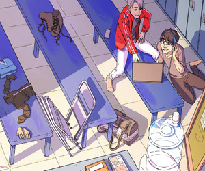 anime, bl, and yoi image