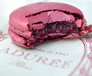 food, macaroons, and laduree image