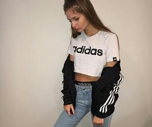 adidas, cold, and grunge image