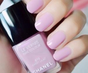 nails, chanel, and nail polish image