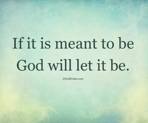 future, god, and meant to be image