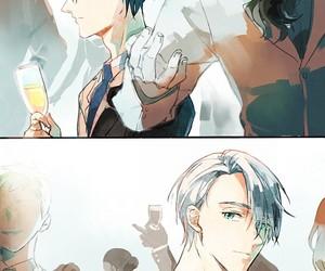 yuri on ice, anime, and yuri image