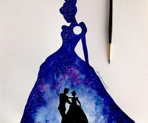 arte, galaxia, and disney image