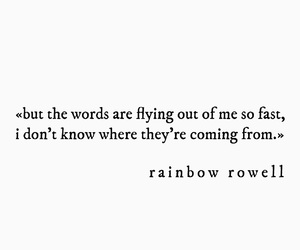 book, books, and rainbow rowell image