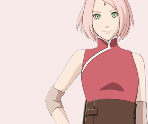 naruto, sakura, and the last image