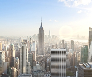 architecture, big apple, and empire state building image