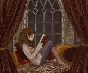 book, harry potter, and art image