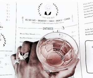 beauty, drink, and fashion image