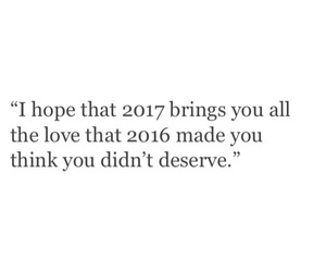 2017, love, and 2016 image
