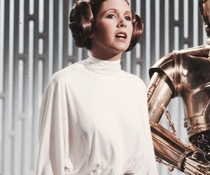 carrie fisher, Princess Leia, and rest in peace image