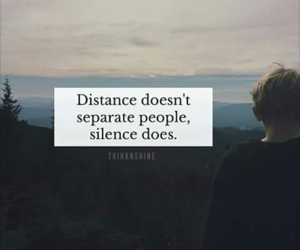 distance, friendship, and people image