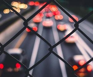light, street, and car image