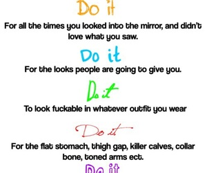 do it, fitness, and motivation image