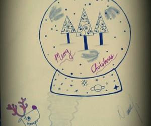 art, wallpaper, and cristmas tree image