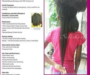 hair, natural, and natural hair image