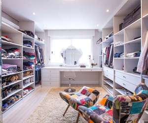 bright, closet, and home image