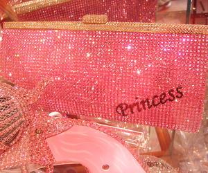 pink, princess, and bag image