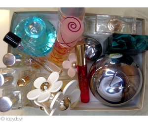perfume collection, chanel, and prada candy image