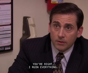 funny, office, and michael scott image