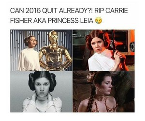carrie fisher and rip image