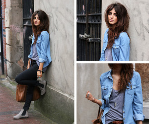 denim shirt image