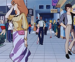 screen capture, retro anime, and anime cap image