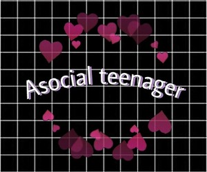 antisocial, teen, and wallpaper image
