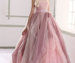 beautiful, gowns, and lace image