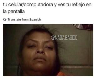 facebook, lol, and memes en español image