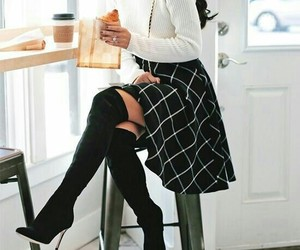 black, boots, and home image