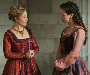 queen catherine, lady lola, and reign image