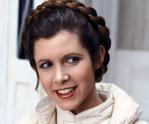 carrie fisher, star wars, and Princess Leia image