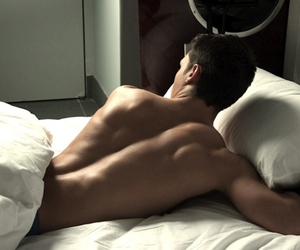 back, boy, and Hot image