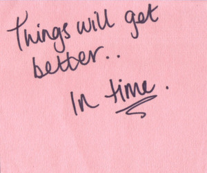 quotes, time, and pink image