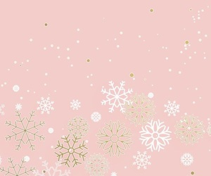 pink, wallpaper, and christmas image