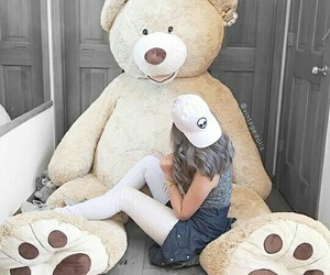 girl and bear image