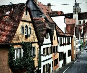 germany, landscape, and rothenburg image