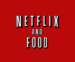 netflix, red, and overlay image