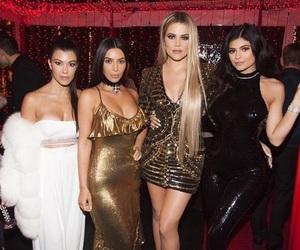 kim kardashians, kourtney kardashians, and khloe kardashians image