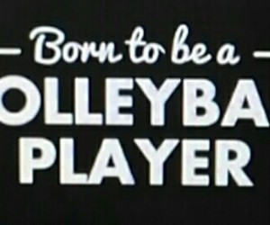 sport, volleyball, and love image